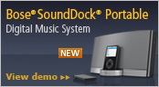 Learn more about SoundDock Portable